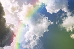 Rainbow on the sky Royalty Free Stock Photo