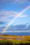 Rainbow in the sky Royalty Free Stock Photography