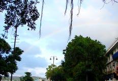 A Rainbow in Sky in Panaji, Goa Stock Image