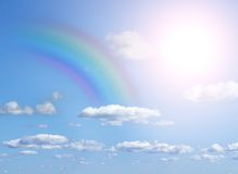 Rainbow in the sky Stock Photos