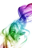 Rainbow Smoke Stock Photography