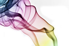 Rainbow smoke Royalty Free Stock Photos