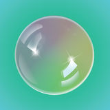 Rainbow soap bubbles, eps10 vector. Rainbow soap bubbles, eps10. This is editable vector illustration Stock Image