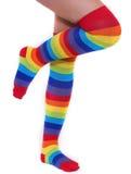 Rainbow Socks Stock Images