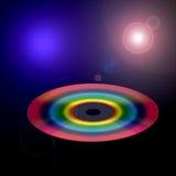 Rainbow Space vector illustration