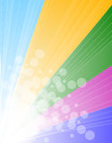Rainbow Spectrum Background for Brochure or Flyers Royalty Free Stock Photos