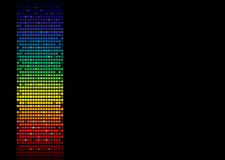 Rainbow spectrum banner Royalty Free Stock Image