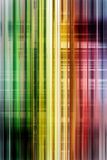 Rainbow speed blur background Stock Photography