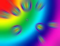 Rainbow Speed Light 2 Royalty Free Stock Images