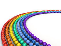 Rainbow Spheres Royalty Free Stock Image