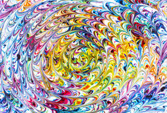 Rainbow Spiral Stock Photos