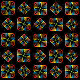 Rainbow spiral pattern Royalty Free Stock Photography