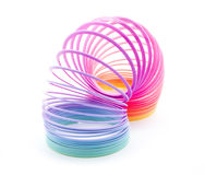 Rainbow spiral Royalty Free Stock Photography