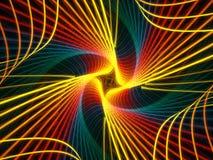 Rainbow a spirale Immagini Stock Libere da Diritti