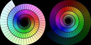 Rainbow Spirals Royalty Free Stock Photography