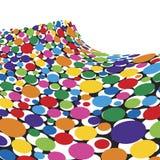 Rainbow Sponge Wave. Colorful Rainbow Sponge Wave Background Royalty Free Stock Photography