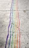 Rainbow sporco Fotografia Stock