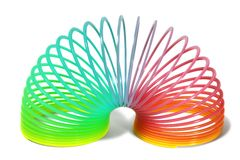 Rainbow spring Royalty Free Stock Images