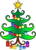 Rainbow spruce Royalty Free Stock Image