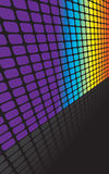 Rainbow Squares Backdrop Stock Photography