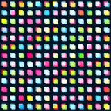 Rainbow squares seamless pattern Stock Photos