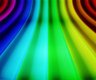 Rainbow Stage Background Royalty Free Stock Photos