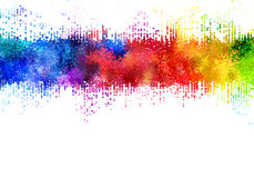 Rainbow stains. Royalty Free Stock Photography