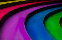 Rainbow Stairs Stock Image