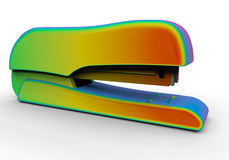 Rainbow stapler Stock Photo