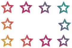 Rainbow Stars Royalty Free Stock Images