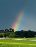 Rainbow Strike Stock Image