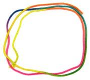 Rainbow String Frame Stock Photos