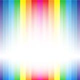 Rainbow stripe backdrop Stock Photography