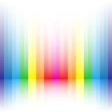 Rainbow stripe background Royalty Free Stock Image