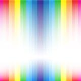 Rainbow stripe diamond shape Stock Photography