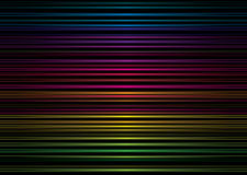 Rainbow stripe metal Royalty Free Stock Photo
