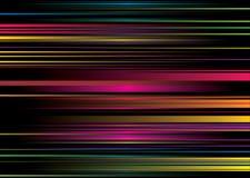 Rainbow stripe ribbon Stock Photo
