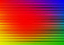 Rainbow striped background Stock Images