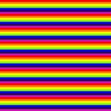 Rainbow stripes. Vector art illustration. For more textures, please visit my gallery Royalty Free Stock Photography