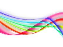 Rainbow stripes Stock Photo