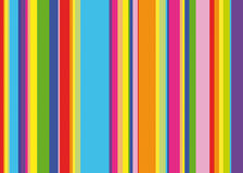 Rainbow stripes Royalty Free Stock Image