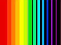 Rainbow stripes Royalty Free Stock Photo