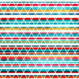 Rainbow stripes seamless texture Stock Photos