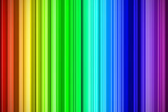 Rainbow strokes abstract background Royalty Free Stock Images