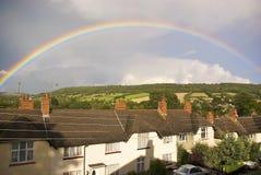 Rainbow stupefacente Fotografia Stock