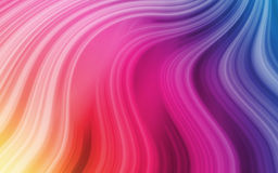 Rainbow Style 2. Useful Rainbow Style Background - moving Gradients Royalty Free Stock Photography