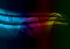 Rainbow subtle glow Royalty Free Stock Photo