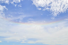 Rainbow sun halo Royalty Free Stock Photo