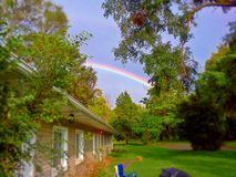 Rainbow On A Sunny Day Royalty Free Stock Image