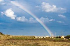 Rainbow in sunshine Royalty Free Stock Photography